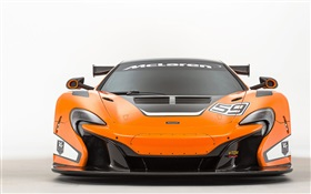 2015 650S GT3 McLaren supercar front view HD wallpaper