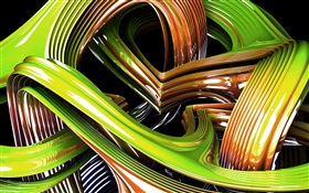 3D design, the perfect curve HD wallpaper