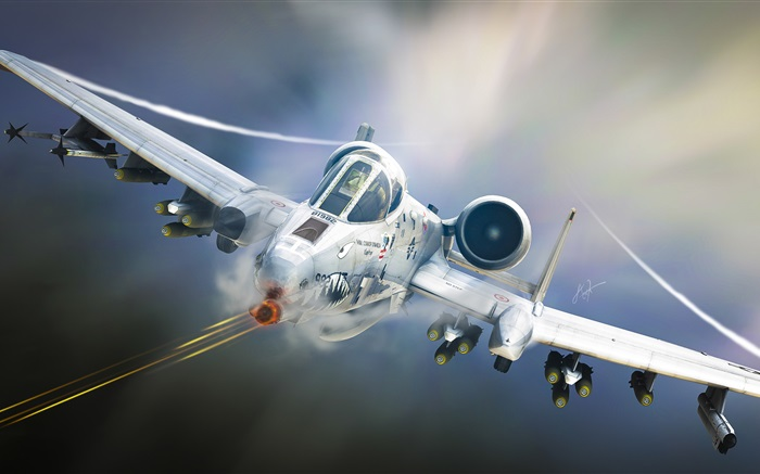 A-10 Tankbuster, attack aircraft Wallpapers Pictures Photos Images
