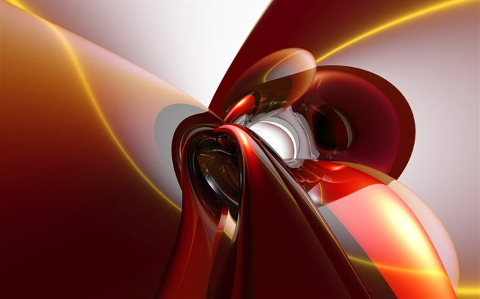 Abstract curve, red style Wallpapers Pictures Photos Images