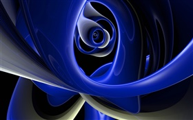 Abstract design, unlimited curve HD wallpaper