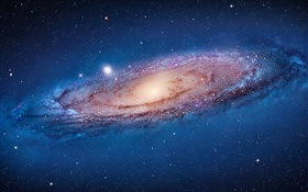 Andromeda galaxy HD wallpaper