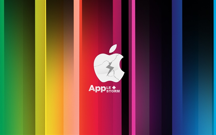 Apple Storm, colorful Wallpapers Pictures Photos Images