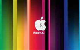 Apple Storm, colorful HD wallpaper