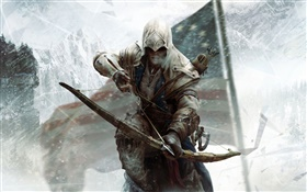 Assassin's Creed 3 PC game HD wallpaper