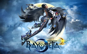 Bayonetta 2 PC game HD wallpaper