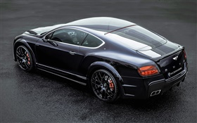 Bentley Continental GT ONYX car rear view HD wallpaper
