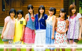 C-ute, Japanese idol girl group 01 HD wallpaper