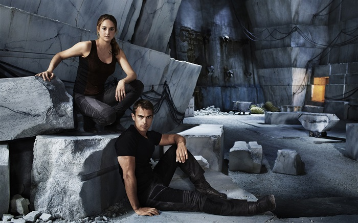 Divergent, Shailene Woodley, Theo James Wallpapers Pictures Photos Images