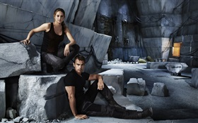 Divergent, Shailene Woodley, Theo James HD wallpaper