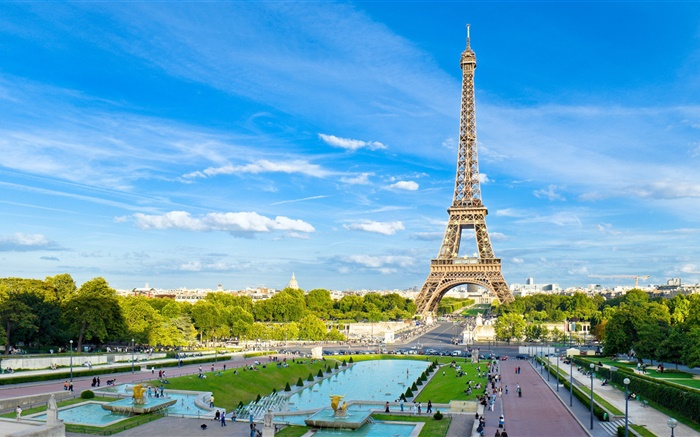 Eiffel tower, Paris, France Wallpapers Pictures Photos Images