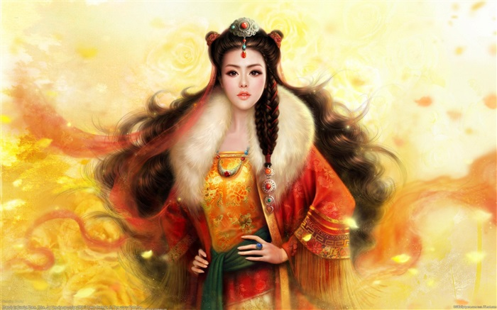 Fantasy girl, retro, asian Wallpapers Pictures Photos Images
