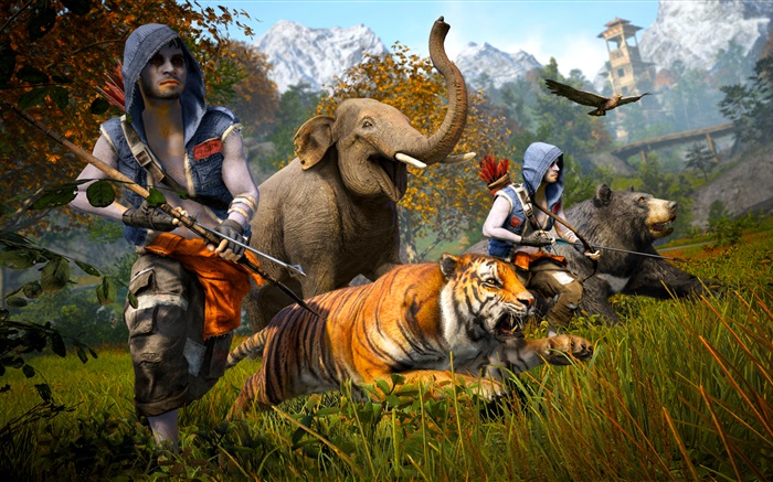 Far Cry 4, to hunt Wallpapers Pictures Photos Images