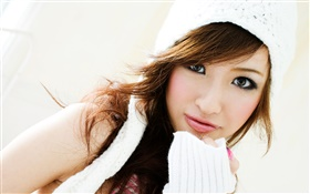 Fashion Chinese girl HD wallpaper