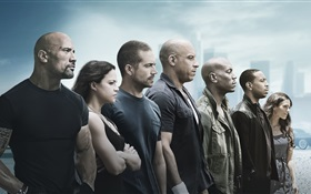 Fast and Furious 7 HD wallpaper