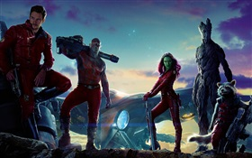Guardians of the Galaxy, film characters HD wallpaper