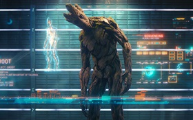 Guardians of the Galaxy, tree man HD wallpaper