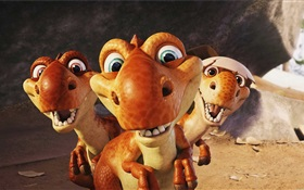 Ice Age 3, cute little dinosaur HD wallpaper