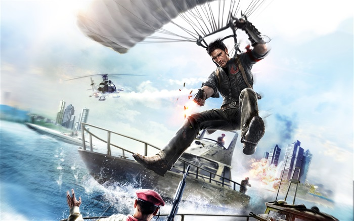 Just Cause 3, parachute Wallpapers Pictures Photos Images