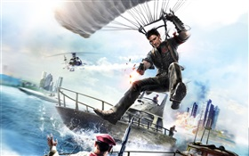 Just Cause 3, parachute HD wallpaper