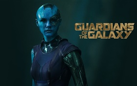 Karen Gillan, Guardians of the Galaxy HD wallpaper