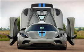 Koenigsegg supercar wings HD wallpaper