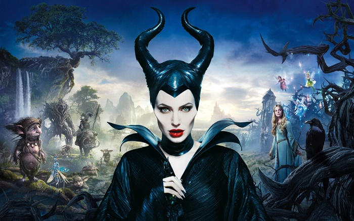 Maleficent, Angelina Jolie Wallpapers Pictures Photos Images