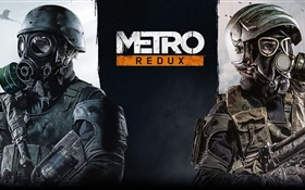 Metro 2033 Redux, PC game HD wallpaper