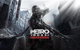 Metro 2033 Redux, soldier HD wallpaper