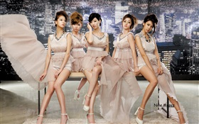 Nine Muses, Korea music girls 01 HD wallpaper
