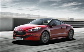 Peugeot RCZ R red car