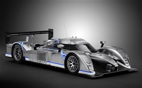 Peugeot hybrid race car HD wallpaper
