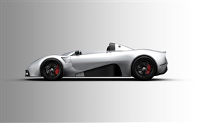 Scuderia Bizzarrini P538 supercar side view HD wallpaper
