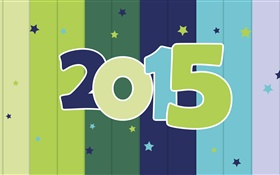 Striped background 2015 New Year HD wallpaper