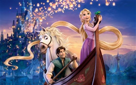 Tangled, cartoon movie HD wallpaper
