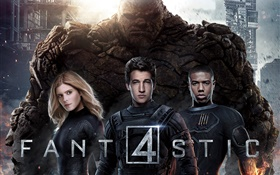 The Fantastic Four 2015 HD wallpaper