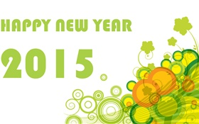 Vector creative, Happy New Year 2015 HD wallpaper