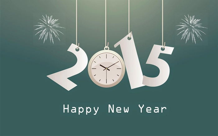 Vector design 2015 New Year Wallpapers Pictures Photos Images