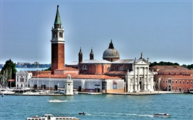 Venice, church HD wallpaper