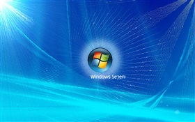 Windows 7, blue sonic HD wallpaper