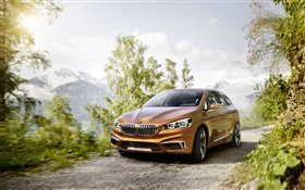 2013 BMW concept tourer HD wallpaper