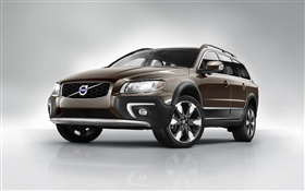 2014 Volvo XC70 brown SUV car HD wallpaper