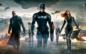 2014 movie, Captain America: The Winter Soldier HD wallpaper