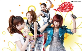 2NE1, Korean music girls 01 HD wallpaper