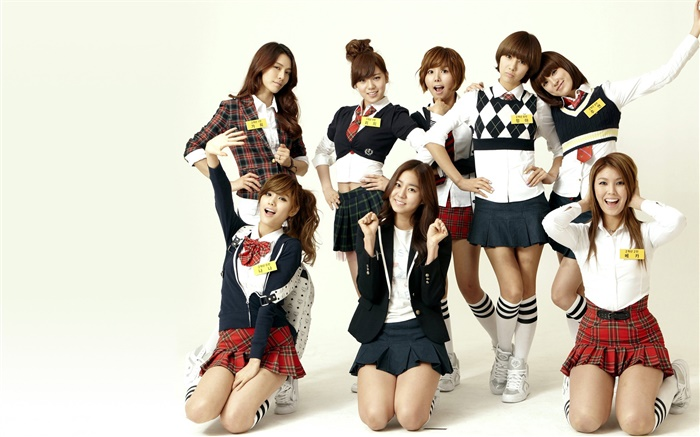 After School, Korea music girls 02 Wallpapers Pictures Photos Images