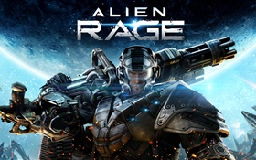 Alien Rage, PC game HD wallpaper