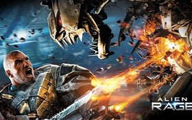Alien Rage, game widescreen HD wallpaper