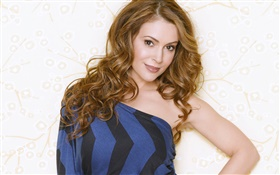Alyssa Milano 01 HD wallpaper