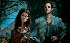 Anna Kendrick, Chris Pine, Into the Woods HD wallpaper