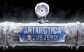Antarctica, sub zero temperature, creative images HD wallpaper